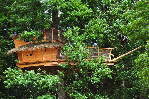 Pirate tree house (3 to 5 pers)